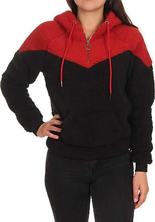 Rip Curl Island Hooded Polar Fleece Fleece Femmes Black/Red - M - Fleeces