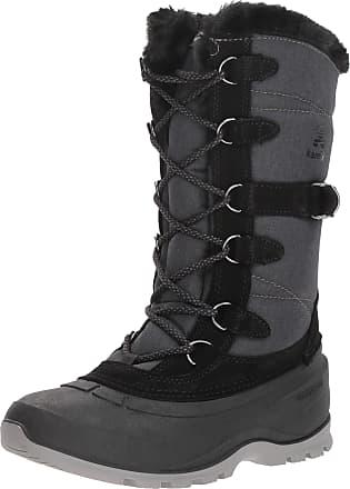 kamik SNOVALLEY2 Womens Snow Boots, Black (Black-BLK), 7 UK (40 EU)
