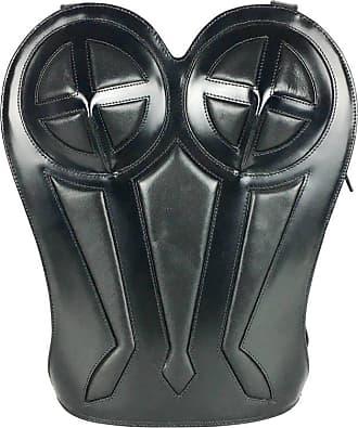 Jean Paul Gaultier 1998 Jean Paul Gaultier Black Leather Bustier Backpack 889a2fa23260