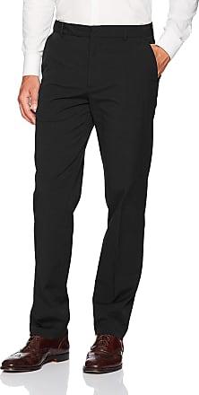 Van Heusen Mens 505M124 Casual Pants, Dark Black, 38W x 32L