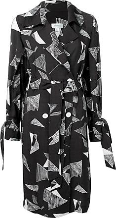 Jovonna London Vestido envelope com estampa abstrata - Preto
