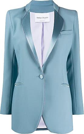 Hebe Studio Blazer com botões - Azul