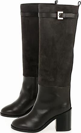 Stuart Weitzman Block Heel MORRISON Knee High Boots 9 cm size 38,5