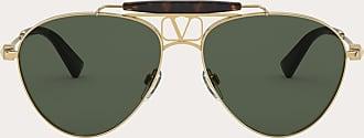Valentino Valentino Occhiali Vlogo Pilot Metal Frame Man Gold/black 100% Metallic Fibre OneSize
