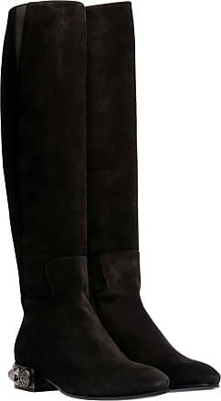Dolce   Gabbana Stiefel aus Leder in Schwarz für Damen, Größe 37.5 4ef4694331