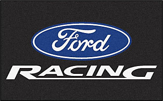 Fanmats Fan Mats Ford Racing Indoor Area Rug Black, Mens, Size: 4 x 6 ft. - 15751