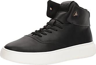 Guess Mens DRAYMIND Sneaker, Black, 10.5 Medium US