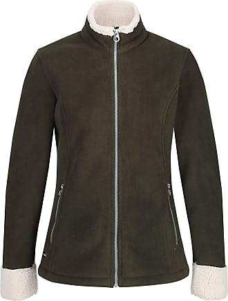 Regatta Bernice Fleece Jacket Women dark khaki/light vanilla Size UK 18 | DE 44 2019 winter jacket