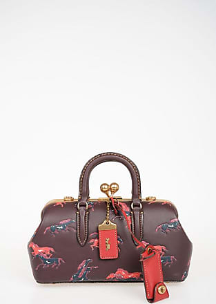 Coach Printed Leather Shoulder Bag size Unica