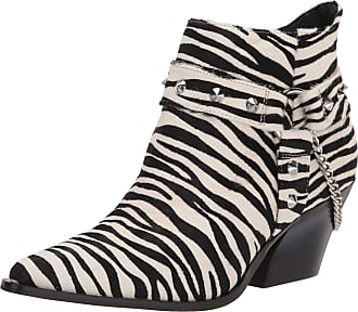 Jessica Simpson Womens Zayrie2 Fashion Boot, White/Black, 9 UK