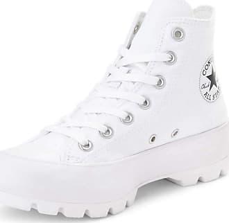 Converse Chuck Taylor All Star Lugged Hi White Black White - 6.5 UK