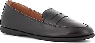 Generico Blender Leather Loafers Rubber Bottom Black Black Size: 8.5 UK