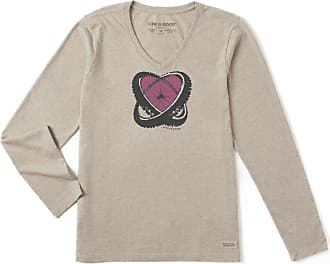 Women's Life is good® Long Sleeve T-Shirts: Now up to −69