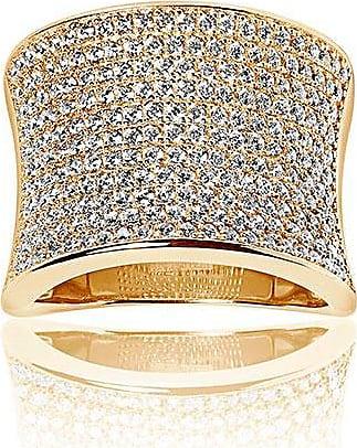 Sif Jakobs Jewellery Ring Dinami - 18K vergoldet mit weißen Zirkonia