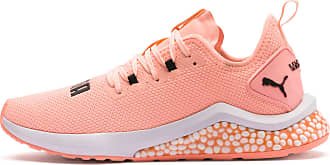 Puma Hybrid Nx Womens Running Shoes, Bright Peach/White, size 8.5, Shoes