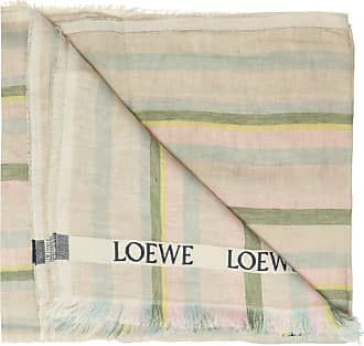 Loewe Embroidered Scarf Womens Multicolour