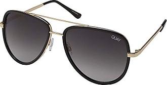 Quay Eyeware Quay x JLo All In (Black/Smoke Fade) Fashion Sunglasses
