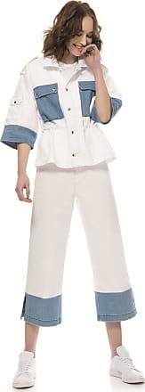 Re-hash Jeans di cotone crop