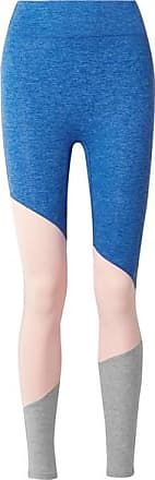 We/Me The Exhale Color-block Stretch-jersey Leggings - Blue