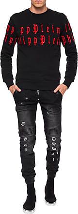 Philipp Plein Philip Plein Sweatshirt LS Gothic P Black (Small)