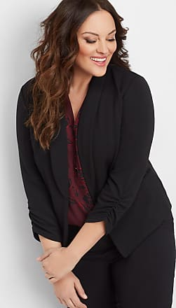 Maurices Plus Size - Solid Open Front Blazer