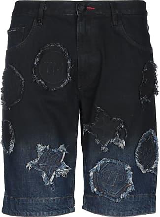 Philipp Plein DENIM - Jeansbermudashorts auf YOOX.COM