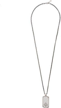 Nialaya dog tag necklace - Grey