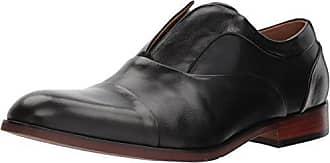 d5a34b7b46b Steve Madden Mens Scheme Oxford Black Leather 7 M US