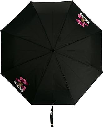 Moschino Ombrello con stampa Teddy Bear - Di colore nero