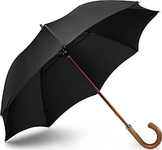 London Undercover City Gent Wood-handle Umbrella - Black