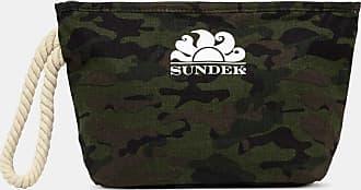Sundek louise - printed linen pochette