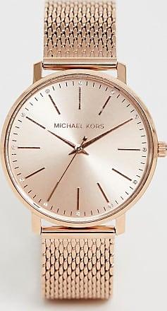 Michael Kors MK4340 Pyper mesh watch in rose gold