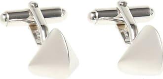 Lanvin Cufflinks With Logo Mens Silver