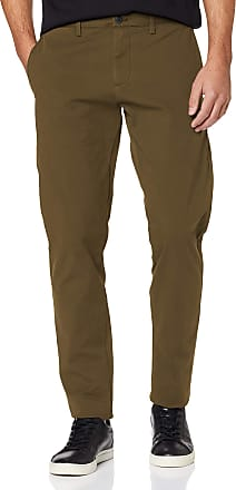 Dockers Mens Smart 360 Flex Chino Tapered Trouser, Green (Vine Green 0012), W33/L32 (Size: 33 32)