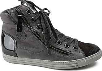 642902b904d440 Paul Green Sneaker Paul Green Glatt Leder Grau (38)