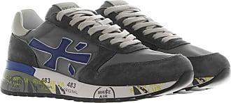 Premiata Sneakers in suede e nylon grigio 40