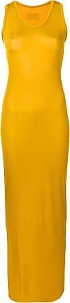 Alexandre Vauthier Vestido slim - Amarelo