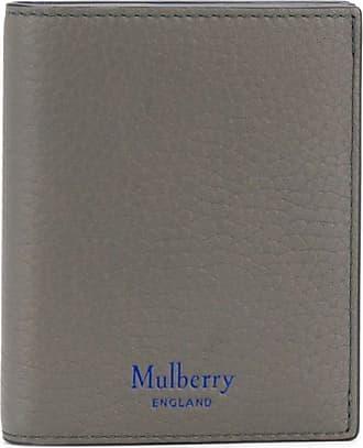 Mulberry Carteira texturizada - Cinza