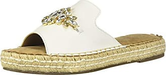 Aerosoles Womens Press Work Flat Sandal White Leather 5.5 M US
