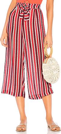Maaji Wide Leg Pants in Red
