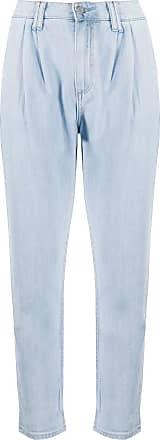 Paige Calça jeans cropped Parisun - Azul