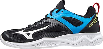 Mizuno Unisex Adults Ghost Shadow Handball Shoe, Black/White/Diva Blue, 11 UK