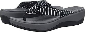 Clarks Arla Glison (Black Printed Fabric) Womens Sandals