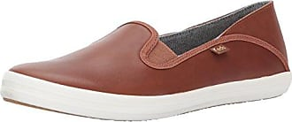 Keds Womens Crashback Leather Fashion Sneaker,Cognac Brown,6.5 M US