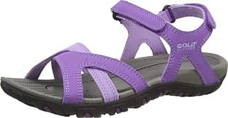 Gola Womens Cedar Hiking Sandals, Purple (Purple/Lilac Vivid), 8 (41 EU)