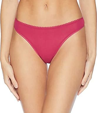 OnGossamer Womens Intimate Apparel Mesh Low-Rise Thong Panty, Radiant Orchid, Small