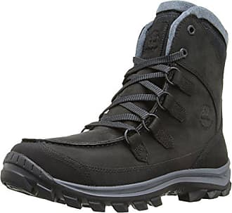 Timberland Mens Chillberg Prem WP Insulated Boot, Black Nubuck, 10 M US