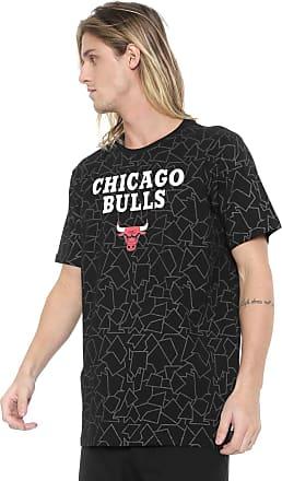NBA Camiseta NBA Chicago Bulls Preta