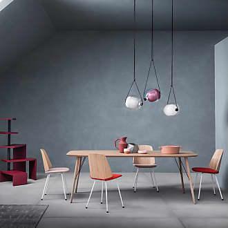ZANOTTA Design June 2055 Side Chair Oak & Quadrifoglio Fabric