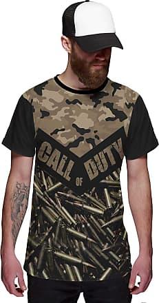 Di Nuevo Camiseta Call of Duty Munição Estilo Camuflagem